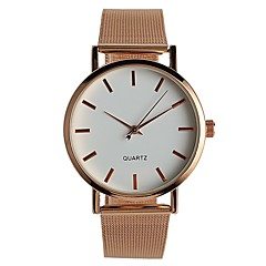 preiswerte Tolle Angebote auf Uhren-Damen Quartz Armbanduhr Chinesisch / Edelstahl Band Freizeit Elegant Modisch Rotgold