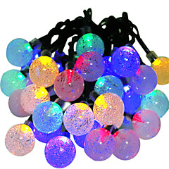 お買い得  LED ストリングライト-HKV 6m ストリングライト 30 LED RGB 防水 / 変色 5 V / IP65