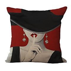 1kpl retrotyylinen tyynynpäällinen tyynynpäällinen