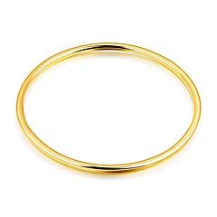 preiswerte Armbänder-Damen Kubikzirkonia Armreife - Zirkon, vergoldet, Rose Gold überzogen Luxus, Grundlegend, Modisch Armbänder Gold Für Weihnachten Hochzeit Party