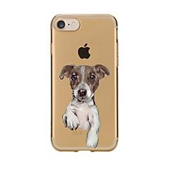 Чехол для iphone 7 6 собака tpu мягкая ультратонкая задняя крышка чехол iphone 7 плюс 6 6s плюс se 5s 5 5c 4s 4