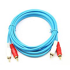 2RCA Cablu, 2RCA to 2RCA Cablu Bărbați-Bărbați 1.5M (5ft)