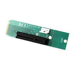 abordables BUY MORE SAVE MORE-PCI Express PCI-E 4x femelle ngff m.2 touche m masculin carte de convertisseur de l'adaptateur avec câble d'alimentation