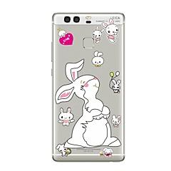 Чехол для huawei p8 lite2017 p10 крышка прозрачный чехол кролик мягкий tpu для p10 lite p10 plus p9 plus p9 lite p9 p8 lite p8 mate9 pro
