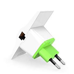 Vonets vrp300 - más repetidor del amplificador de la señal del wifi 2.4ghz 300mbps puerto dual de los puertos del eu enchufe