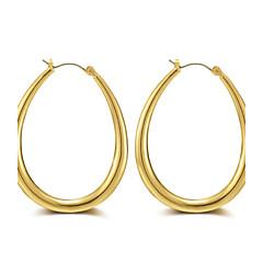 preiswerte Ohrringe-Damen Kreolen - Roségold Luxus, Quaste, Punk Gold / Silber Für Weihnachten / Alltag / Normal / überdimensional