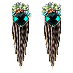 preiswerte Ohrringe-Damen Tropfen-Ohrringe individualisiert überdimensional Modisch Aleación Blumenform Schmuck Für Party Bühne