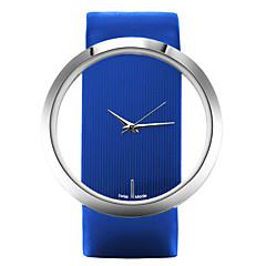 tanie Zegarki damskie-Damskie Kwarcowy Zegarek na nadgarstek Na codzień Skóra Pasmo Na co dzień Elegancki Modny Czarny Biały Niebieski Czerwony Brązowy