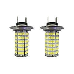 Недорогие Противотуманные фары-2pcs H7 Автомобиль Лампы 4W SMD 3528 385lm Светодиодные лампы Противотуманные фары