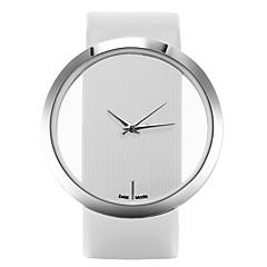 preiswerte Tolle Angebote auf Uhren-Damen Armbanduhr Armbanduhren für den Alltag Leder Band Freizeit / Modisch / Elegant Schwarz / Weiß / Blau / Ein Jahr / SSUO LR626