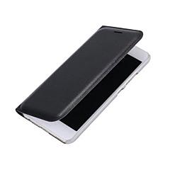 Недорогие Чехлы и кейсы для Huawei Mate-Кейс для Назначение Huawei P9 Huawei P9 Lite Huawei Бумажник для карт Флип Чехол Сплошной цвет Твердый Кожа PU для P10 Plus P10 Lite P10