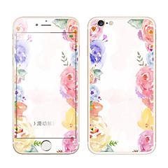Недорогие Защитные пленки для iPhone 6s / 6-Защитная плёнка для экрана Apple для iPhone 6s iPhone 6 Закаленное стекло 1 ед. Защитная пленка для экрана и задней панели 3D