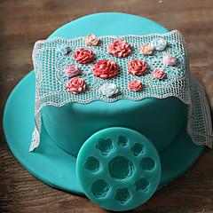 voordelige -Cake Moulds Nieuwigheid Dagelijks gebruik silica Gel Baking Tool
