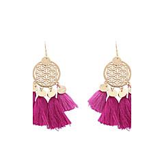 preiswerte Ohrringe-Damen Quaste Tropfen-Ohrringe - Personalisiert, Quaste, Böhmische Grün / Dunkelblau / Hellblau Für Hochzeit Party Abschluss