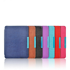 cheap Tablet Cases-Case For KOBO Full Body Cases Full Body Cases Solid Color Hard PU Leather for
