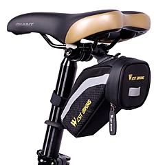 olcso -West biking Kerékpáros táska Nyeregtáska Fényvisszaverő csík Vízálló Vízálló cipzár Pehelysullyú Kerékpáros táska Ruhaanyag Lycra