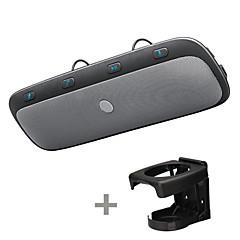 Недорогие Bluetooth гарнитуры для авто-tz900 bluetooth автомобильный комплект hands-free солнцезащитный козырек Bluetooth телефон голосовое сообщение беспроводная навигация mp3 музыкальный проигрыватель динамики