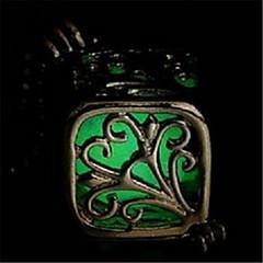 Недорогие Женские украшения-Жен. Светящийся камень Ожерелья с подвесками - На заказ, Светящийся Светящийся, Лампа дневного света Оранжевый, Светло-синий, Светло-Зеленый Ожерелье Бижутерия Назначение Halloween, Для клуба