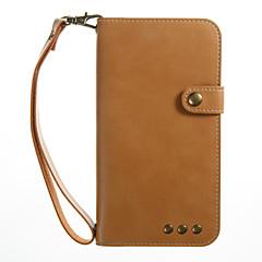 Назначение iPhone X Чехлы панели Кошелек Бумажник для карт со стендом Флип Чехол Кейс для Сплошной цвет Твердый Искусственная кожа для