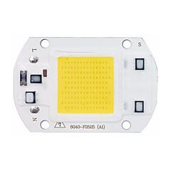 olcso LED-ek-nagyteljesítményű LED csutka chip 30W 110V 220V bemenet intelligens IC diy led árvíz fény chip (1 db)