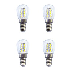 4 pièces 2W E14 Ampoules Globe LED 26 diodes électroluminescentes SMD 2835 Blanc Chaud Blanc 160lm 3000-6500K AC 100-240V