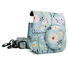 fujifilm instax mini 9 сумка для фотоснимок синяя хризантема сумка
