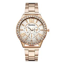 preiswerte Tolle Angebote auf Uhren-Damen Armbanduhr Legierung Band Glanz / Modisch Silber / Gold / Rotgold / Ein Jahr / Jinli 377