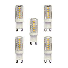 tanie Żarówki LED-5 szt 2.5W G9 Żarówki LED bi-pin T 33 Diody lED SMD 2835 Ciepła biel Biały 210lm 3000-3500/6000-6500K AC 220-240V