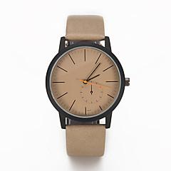お買い得  レディース腕時計-女性用 リストウォッチ クォーツ クリエイティブ カジュアルウォッチ クール PU バンド ハンズ チャーム ぜいたく カジュアル ブラック / ブラウン / カーキ - ブラック Brown カーキ色