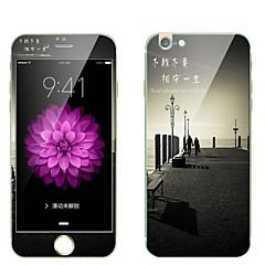 Προστατευτικό οθόνης για Apple iPhone 6s iPhone 6 Σκληρυμένο Γυαλί Προστατευτικό μπροστινής και πίσω οθόνης Ολόσωμο προστατευτικό οθόνης