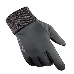 Sports Gloves Bike Gloves / Cycling Gloves Skidproof Protective Sweat-Wicking Durable Full-finger Gloves Cloth Nylon Cycling / Bike Unisex