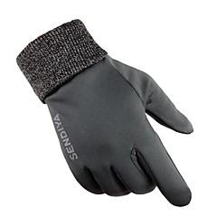 billige -Aktivitets- / Sportshandsker Cykelhandsker Skridsikker Beskyttende Svedreducerende Holdbar Fuld Finger Klæde Nylon Cykling / Cykel Unisex