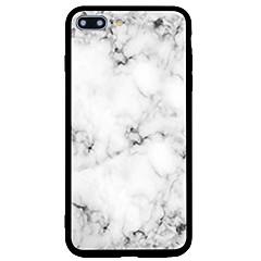 Назначение iPhone 7 iPhone 7 Plus Чехлы панели Матовое С узором Задняя крышка Кейс для Мрамор Твердый Акриловое волокно для Apple iPhone