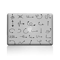 abordables Accessoires de MacBook-MacBook Etuis pour Transparente Formes Géométriques PVC MacBook Pro 13 pouces MacBook Pro 15 pouces MacBook Air 13 pouces MacBook Air 11