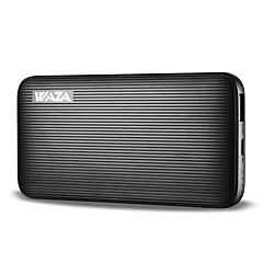 6000mAh banco do poder de bateria externa 5V 2.0AA Carregador de bateria Proteção contra descargas excessivas Proteção de sobrecarga