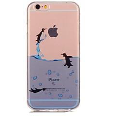 Назначение iPhone 7 iPhone 7 Plus Чехлы панели Ультратонкий С узором Задняя крышка Кейс для Животное Мягкий Термопластик для Apple iPhone