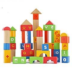 DHZ-kit Bouwblokken Educatief speelgoed Speeltjes Rond Rechthoekig Vierkant Stuks Jongens Meisjes Geschenk