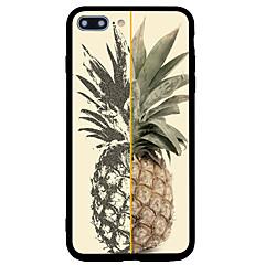Назначение iPhone 7 iPhone 7 Plus Чехлы панели Матовое С узором Задняя крышка Кейс для Фрукты Твердый Акриловое волокно для Apple iPhone
