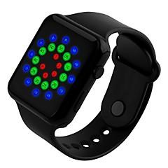 sport horloges mannen mode digitale geleid waterdicht horloge voor vrouwen student siliconen horloge elektronische digitale horloge skmei