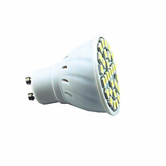 abordables Ampoules LED-3W 300lm GU10 Spot LED 29 Perles LED SMD 5050 Décorative Blanc Chaud Blanc Froid 220V