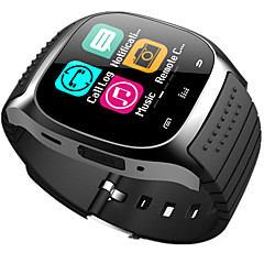 bluetooth smart watch novo m26 impermeável smartwatch pedômetro anti-perdido musica ios telefone android pk a1 dz09