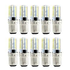 Χαμηλού Κόστους Λαμπτήρες LED-BRELONG® 4 W 360 lm LED Λάμπες Καλαμπόκι 80 leds SMD 3014 Με ροοστάτη Θερμό Λευκό Άσπρο AC110 AC220
