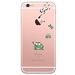 Voor iPhone 7 iPhone 7 Plus Hoesje cover Ultradun Transparant Patroon Achterkantje hoesje dier Cartoon Zacht TPU voor Apple iPhone 7 Plus