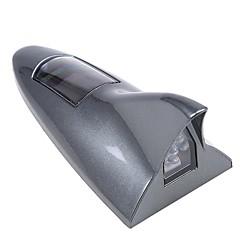 baratos Lâmpadas de LED Inovadoras-barbatana de tubarão de carro luz solar led luzes altas positoned alarme luz segurança aviso luz traseira