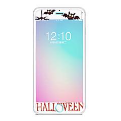Недорогие Защитные пленки для iPhone 7-Защитная плёнка для экрана Apple для iPhone 7 Закаленное стекло 1 ед. Защитная пленка для экрана Узор Взрывозащищенный Уровень защиты 9H