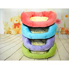お買い得  犬用品-犬 ベッド ペット用 マット/パッド ソリッド パープル レッド グリーン ブルー