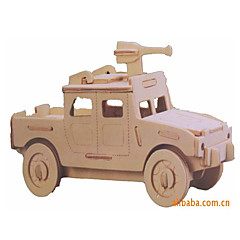 3D-puzzels Speelgoedauto's Modelbouwsets Legervoertuig Speeltjes Automatisch Voertuigen Militair Speciaal ontworpen Nieuw Design Stuks