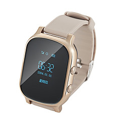 billige Elegante ure-gps tracker smart watch telefonopkald sos wristband gsm wifi + lbs armbåndsur intelligent monitor alarm for barn ældre