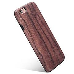 Назначение iPhone 7 iPhone 7 Plus Чехлы панели Ультратонкий С узором Задняя крышка Кейс для Имитация дерева Мягкий Термопластик для Apple