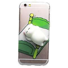 Назначение iPhone 7 iPhone 7 Plus Чехлы панели Прозрачный С узором Своими руками болотистый Задняя крышка Кейс для Кот 3D в мультяшном